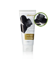Sữa rửa mặt than TheFaceShop Charcoal Phyto Powder in Cleansing Foam