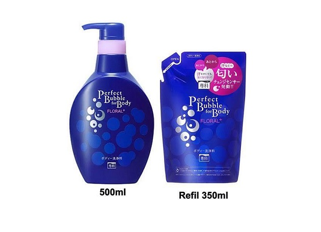 Mỹ phẩm Sữa tắm Shiseido Perfect Bubble For Body Floral+ - Photo 3