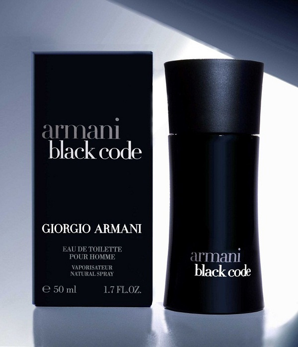 Armani Black Code claims to be a new perspective on the Giorgio Armani Giorgio Armani Code Men's ounce Eau de Toilette Spray (Plain Box Packaging) by GIORGIO ARMANI. $ $ 53 99 $ FREE Shipping on eligible orders. out of 5 stars 7. Product Description.