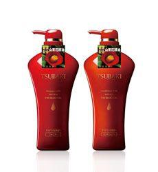 Bộ dầu gội dưỡng tóc cho tóc dầu Shiseido Tsubaki Shining