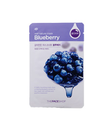 Mặt nạ giấy TheFaceShop Real Nature Mask Sheet Blueberry