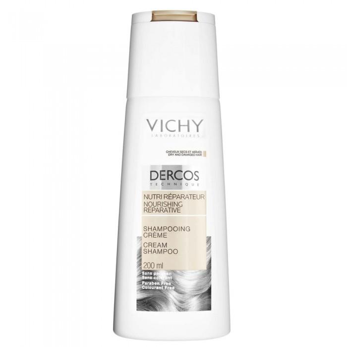 Dầu gội nuôi dưỡng và phục hồi tóc Vichy Nourishing reparative Cream Shampoo