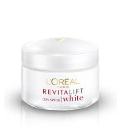 Kem chống nhăn và sáng da Loreal Revitalift white cream