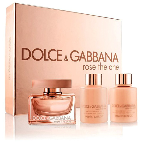 nước hoa D&G Rose The One Giftset