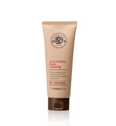 Sữa rửa mặt trị mụn Thefaceshop Clean Face Acne Solution Foam Cleanser