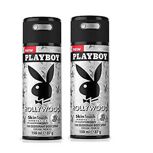 Xịt toàn thân playboy hollywood 150ml (nam)