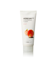 Sữa rửa mặt TheFaceShop Herb Day 365 Cleansing Foam Peach
