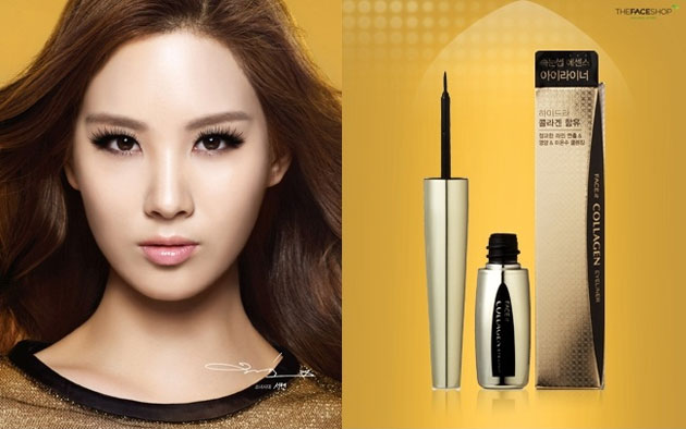 Kẻ viền mắt TheFaceShop Face It Collagen Eyeliner - Photo 4