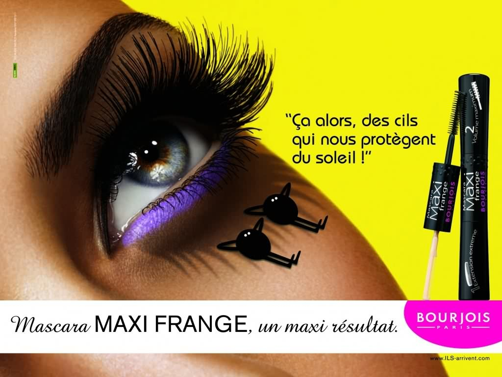Mascara Maxi Frange Waterproof - Photo 3