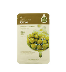 Mặt nạ TheFaceShop Real Nature Mask Sheet Olive