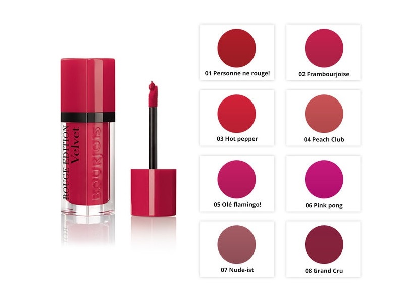 Son Bourjois Rouge Edition Velvet
