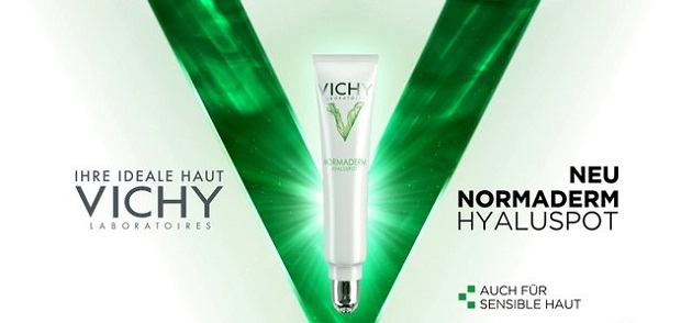 Gel dưỡng da giúp ngăn ngừa mụn trứng cá Vichy Normaderm hyaluspot fast acting anti-imperfection targeted care - Photo 4