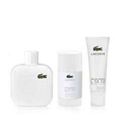 Gift Set Lacoste Blanc Pure 3pc