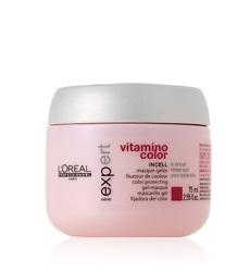 Kem hấp điều trị và nuôi dưỡng tóc nhuộm Loreal Professional Series Expert Vitamino masque
