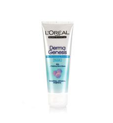 Sữa rửa mặt se khít lỗ chân lông Loreal Derma Genesis Pore Smoother Scrub